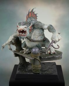 River Troll 1/15 Scale Model
