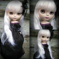 RESERVED  On Layaway  OOAK Custom Blythe Doll  Luna by cindysowers
