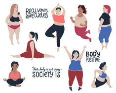 Body Positivity Photography, Positive Art, Body Positive, 1 Clipart, Real Bodies, Body Confidence, Personal Goals, Body Image, Nice Body