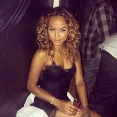 She is 200% perfect. My new aura/fashion/hair/makeup/body obsession! Karrueche Tran
