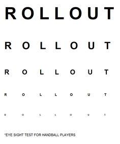 Eye Test for Handball Players