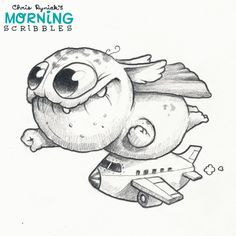Why everyone is pinning just the images from my ''Chris Ryniak's morning scribbles'' panel ? Other panels aren't good enough ? Ugh.