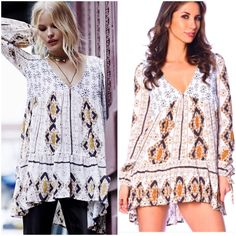 Free People tunic dress Size large more details to come . Please comment for pricing or details Free People Tops