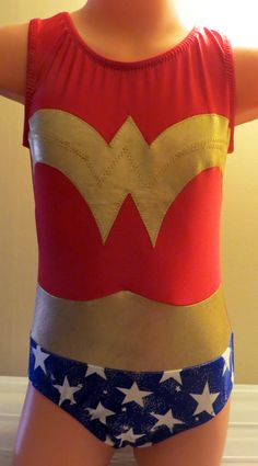 Custom Wonder Woman Leotard Custom Items, Leotards, Equestrian, Wonder Woman, Costumes, Crop Tops, Women, Fashion, Tights