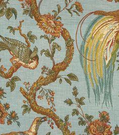 Waverly Upholstery Fabric-Boward Bay Leaf