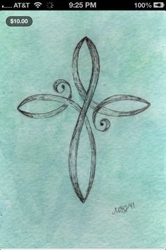 Cross tattoo idea for back of my neck