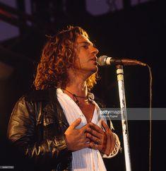 Lead singer of Australian Rock Group INXS, Michael Hutchence