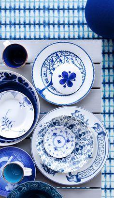 #blue #white #interiors