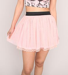 Tulle Skirt with Pearls & Lace  $10  www.urban-planet.com