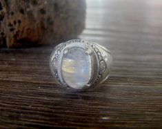 Artisan 92.5 Sterling Silver Marcasite Sapphire Blue Enamel Ring Sz 7/&8  Israel