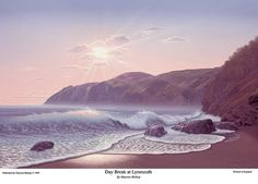 Maurice Bishop - Day break at Lynmouth