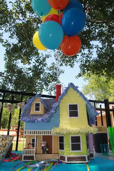 disney up house pinata complete with 3d characters