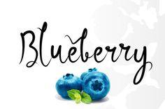 Blueberry by Decavantona on @creativemarket