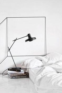luminaria de mesa moderna sutil