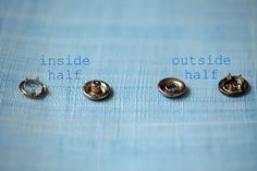 How to use Snap Fasteners.. Great Tutorial