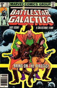 Battlestar Galactica #23 January 1981 [Newsstand Edition]