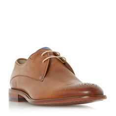 Oliver Sweeney Darley Lace Up Casual Brogues, Tan