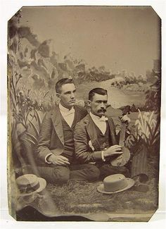 vintage everyday: Homosexuality & Homoromanticism During the Victorian Era: 28 Interesting Vintage Portraits of Gay Couples from the 19th Century
