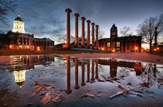 Mizzou quadrangle. My home for 4 years. Wouldn't trade a day. So blessed to have Mizzou as my alma mater.
