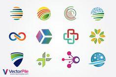 Free Mixed Logo Vector Design Elements vector illustrator free download - F4pik