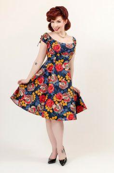 Hilda Dress, Heart of Haute  Ludella Hahn (Photo: Evan Smith)