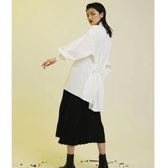 Measurements Size (cm) Shoulder/Sleeve Bust Length S 73 132 83 M 74 136 84 Composition and Care Material: Cotton Gently Wash Korean Design, Shoulder Sleeve, Ruffle Blouse, Silhouette, Sleeves, Cotton, Shirts, Tops, Dresses