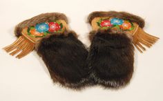 Gauntlet Mitts 1 - Marie Louise Disain Mittens, Winter Hats, Fur, Crafts, Beauty, Collection, Fingerless Mitts, Manualidades, Fingerless Mittens