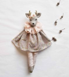 Cute Toys, Fabric Dolls, Children, Kids, Doll Clothes, Deer, Sewing Projects, Design Inspiration, Crafty