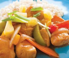Gluten-Free Sweet & Sour Chicken Recipe | from Elisabeth Hasselbeck's Deliciously G-Free cookbook | House & Home