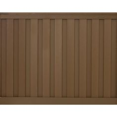 x 8 ft. Saddle Brown Wood-Plastic Composite Board-On-Board Privacy Fence Panel - The Home Depot Trex Fencing, Composite Fencing, Composite Board, Fences, Privacy Fence Panels, Garden Fence Panels, Garden Fencing, Grey Wood, Brown Wood