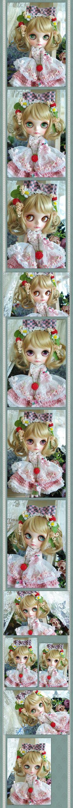 ++カスタムブライス+ custom blythe++ sweet berry - ヤフオク!