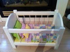 Image result for doll crib