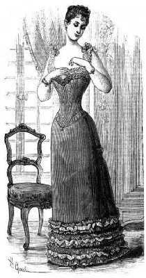 1890-1899 Victorian Fashion