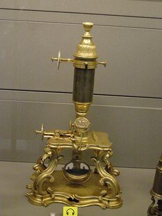 19 th cent. microscope Arts et Metiers  Museum,Paris