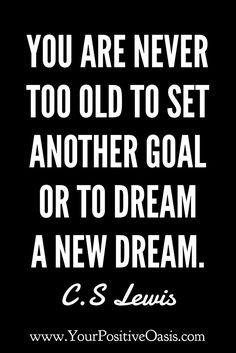 Set goals no matter what