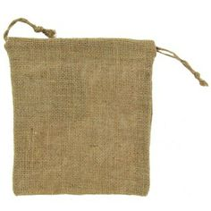 Natural Jute Drawstring Woven Pouch | Shop Hobby Lobby $1.99
