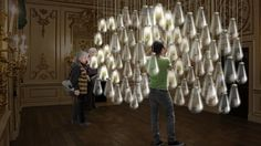 'Curiosity Cloud' by mischer'traxler for Champagne Perrier-Jouët,  London Design Festival 2015