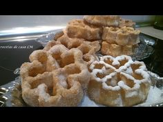 FLORES DE CARNAVAL - YouTube Mexican Cookies, Pan Dulce, Churros, Biscotti, Fondant, Waffles, Sandwiches, Food And Drink, Yummy Food