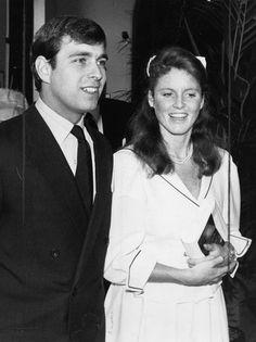 Sarah Ferguson and Prince Andrew 1986