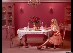 Darker Side of Barbie and Ken's Marriage By Dina Goldstein