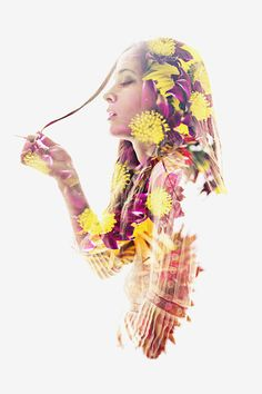 Double exposure beauty project by Aneta Ivanova.Models are Sonya Ivanova and Aneta Ivanova. Photoshop Photography, Creative Photography, Art Photography, Portraits En Double Exposition, Double Exposure Photography, Creation Photo, Multiple Exposure, Photo Manipulation, Photo Art