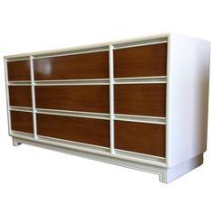 9 draer white dresser lacquer