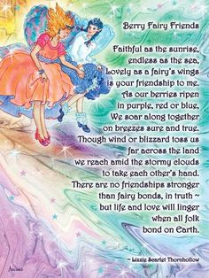 Berry Fairy Friends Poem | teresaascone