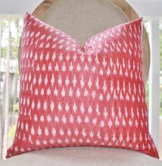 Decorative Pink Pillow  Modern Geometric Pink by MotifPillows, $38.00