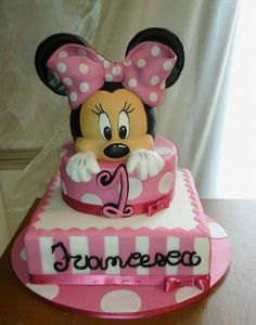 Torta Minnie 1 anno