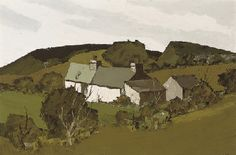 Find artworks by Sir Kyffin Williams (British, 1918 - on MutualArt and find more works from galleries, museums and auction houses worldwide. Landscape Art, Landscape Paintings, Kyffin Williams, Painting Gallery, Impressionist Art, Art For Art Sake, Naive Art, Painting & Drawing, Art Drawings