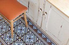 Finte piastrelle per pavimenti - Tappeto vinile