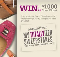 Naturalizer My Totallyizer Sweepstakes