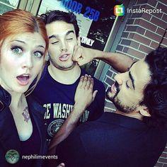 Kat/Clary, Alberto/Simon and Joel/Alaric xx