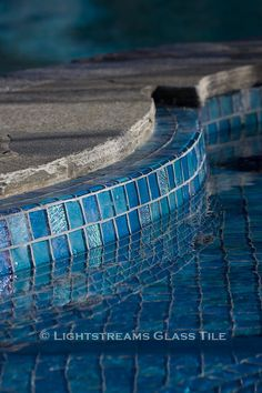 American Manufactured Lightstreams Glass Tile Can Be Used In Both  Commercial And Residential Swimming Pool Waterline Projects.